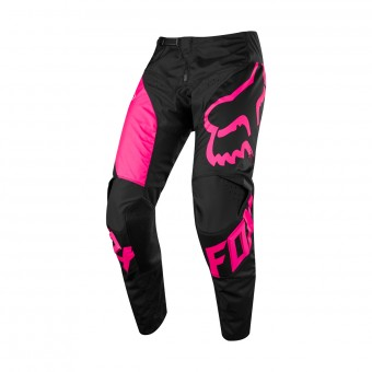Pantalon Cross FOX 180 Mastar Black Pink Pant 001