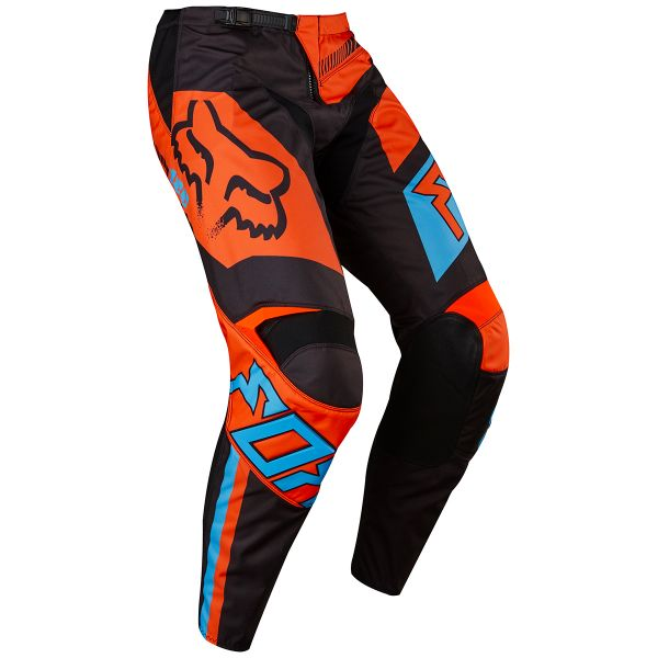 Pantalon Cross FOX 180 Falcon Black Orange Pant 016