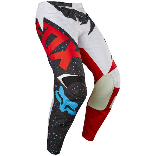 Pantalon Cross FOX 180 Nirv Red White Pant 054