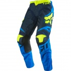 Pantalon Cross FOX 180 Race Blue Yellow Enfant Pant (026)