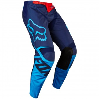 Pantalon Cross FOX 180 Race Navy Pant 007