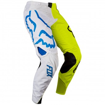 Pantalon Cross FOX 360 Creo White Yellow Pant Enfant 214