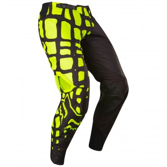 Pantalon Cross FOX 360 Grav Black Yellow Pant 019