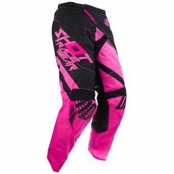 Pantalon Cross SHOT Contact Claw Neon Pink Pant