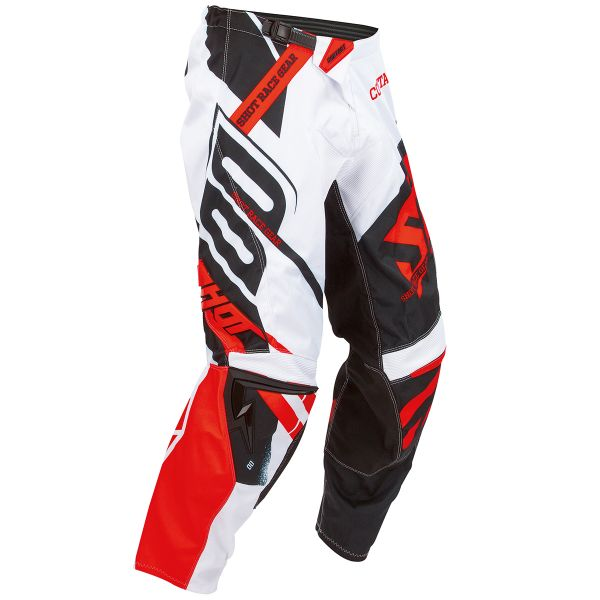 Pantalon Cross SHOT Contact Raceway Red Pant
