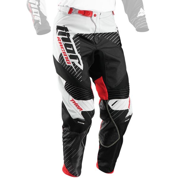 Pantalon Cross Thor Core Hux Black White Pant