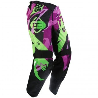 Pantalon Cross Freegun Devo Honor Green Purple Pant