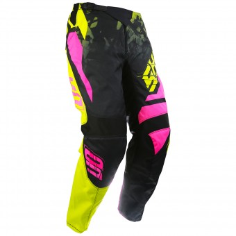 Pantalon Cross SHOT Devo Squad Lime Neon Pink Pant