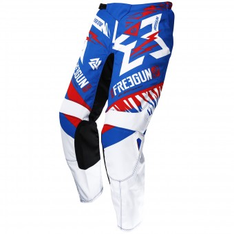 Pantalon Cross Freegun Devo Trooper Blue Red Pant Enfant