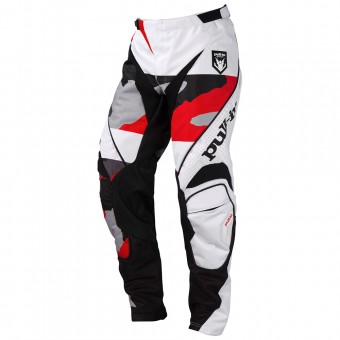 Pantalon Cross pull-in Fighter Camo Black White Red Pant