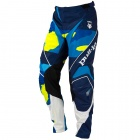 Pantalon Cross pull-in Fighter Camo Blue Neon Yellow Pant