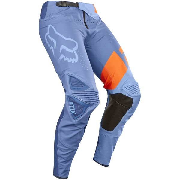 Pantalon Cross FOX Flexair Libra Orange Blue Pant 592