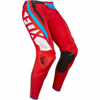 Pantalon Cross FOX Flexair Seca Red Pant 003