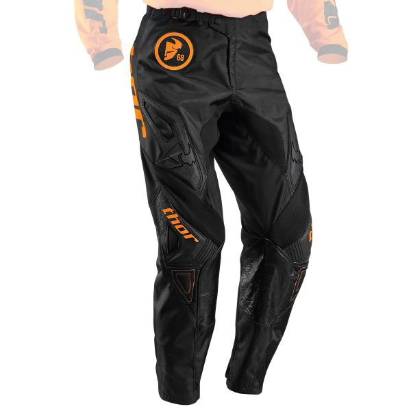 Pantalon Cross Thor Phase Gasket Flo Orange Pant Enfant
