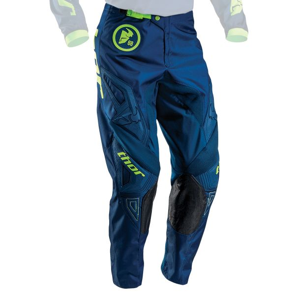 Pantalon Cross Thor Phase Gasket Navy Lime Pant Enfant