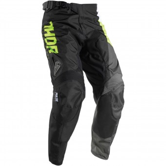 Pantalon Cross Thor Pulse Aktiv Lime Black Pant