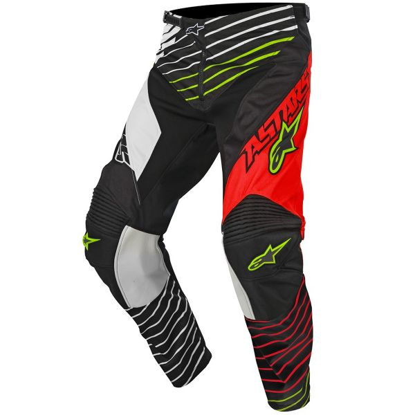 Pantalon Cross Alpinestars Racer Braap Red White Pant