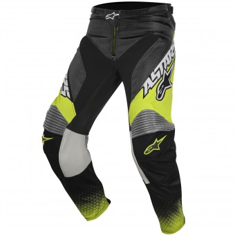 Pantalon Cross Alpinestars Racer Supermatic Anthracite Yellow Fluo Pant