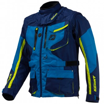 Veste Cross Kenny Titanium Enduro Blue Jacket