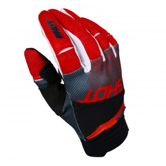 Gants Cross SHOT Aerolite Optica Red