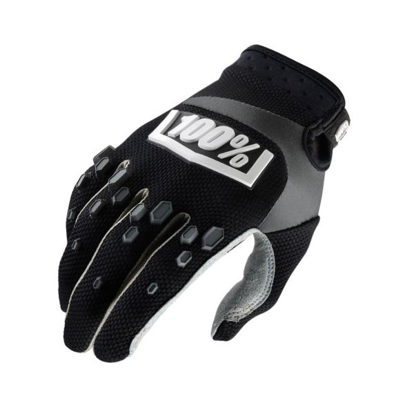 Gants Cross 100% Airmatic Black Enfant