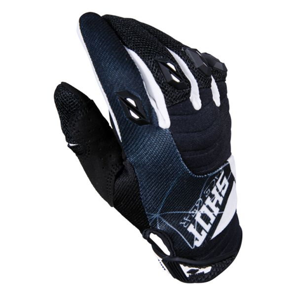 Gants Cross SHOT Contact Infinite Black White