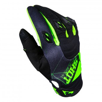 Gants Cross SHOT Contact Infinite Green