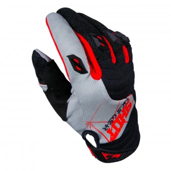 Gants Cross SHOT Contact Infinite Red Grey