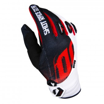 Gants Cross SHOT Devo Venom Black Red Enfant