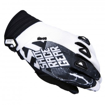 Gants Cross SHOT Devo Venom Black White Enfant
