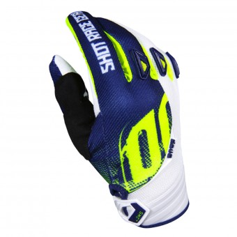 Gants Cross SHOT Devo Venom Blue Yellow Enfant