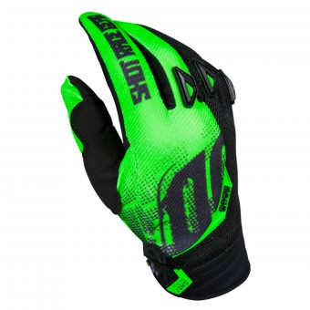 Gants Cross SHOT Devo Venom Green Enfant