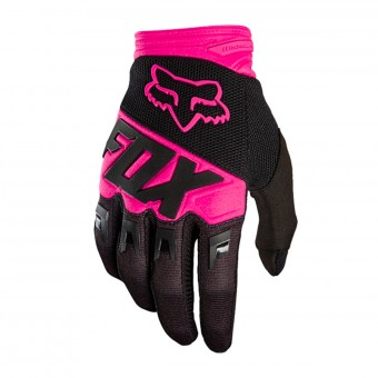Gants Cross FOX Dirtpaw Race Black Pink 285
