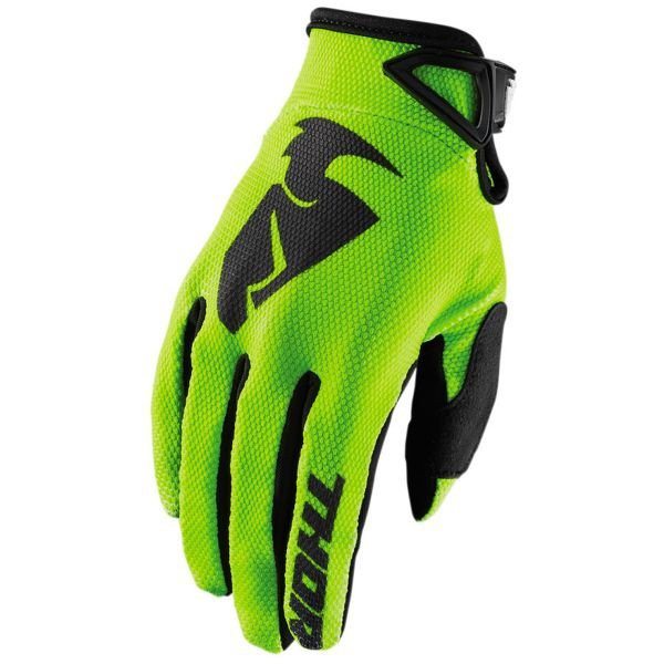 Gants Cross Thor Sector Glove Lime Enfant