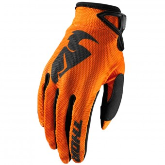 Gants Cross Thor Sector Glove Orange Enfant