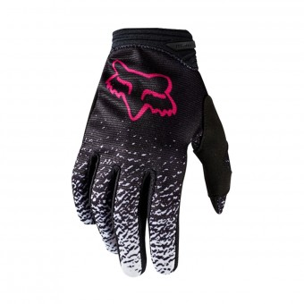 Gants Cross FOX Women Dirtpaw Black Pink 285