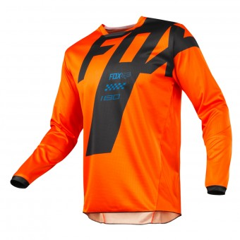 Maillot Cross FOX 180 Mastar Orange Enfant 009
