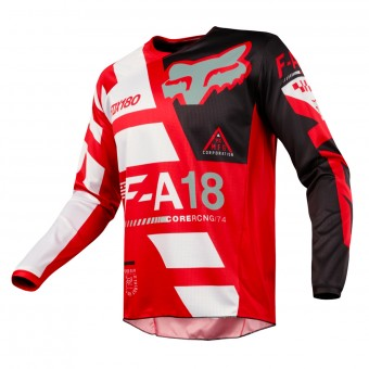 Maillot Cross FOX 180 Sayak Red Enfant 003
