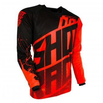 Maillot Cross SHOT Contact Venom Neon Orange