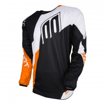 Maillot Cross SHOT Devo Alert Black Orange