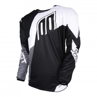Maillot Cross SHOT Devo Alert Black White