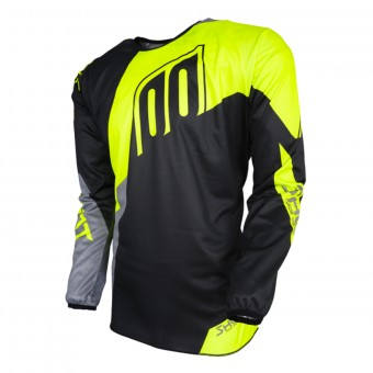 Maillot Cross SHOT Devo Alert Neon Yellow