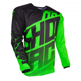 Maillot Cross SHOT Devo Venom Neon Green Enfant