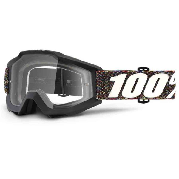 Masque Cross 100% Accuri Krick Clear Lens