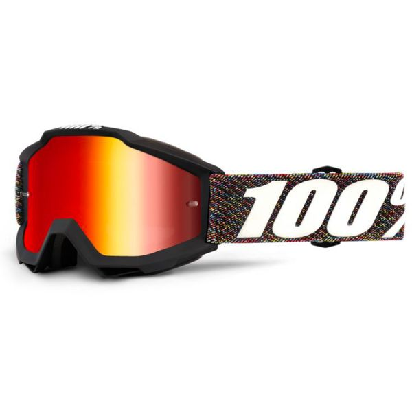 Masque Cross 100% Accuri Krick Mirror Red Lens Enfant