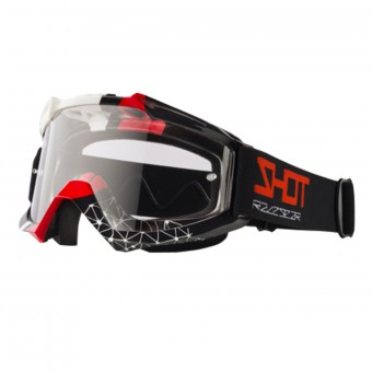 Masque Cross SHOT Assault Beyound Black Red