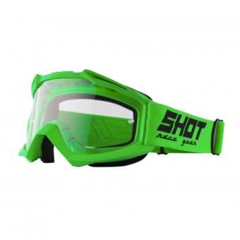 Masque Cross SHOT Assault Neon Green