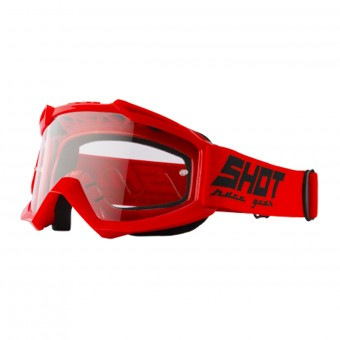 Masque Cross SHOT Assault Red
