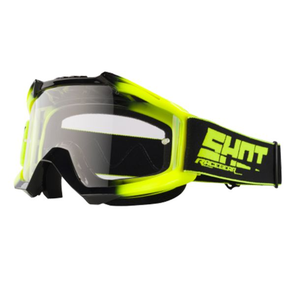 Masque Cross SHOT Assault Twin Neon Yellow