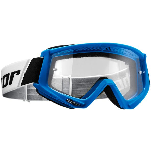 Masque Cross Thor Combat Blue White